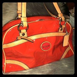 REAL Coach shoulder purse!